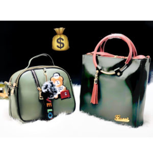 Gucci And Teddy Sling Combo Olive