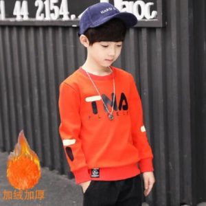 Boys Warm T-Shirt- Red