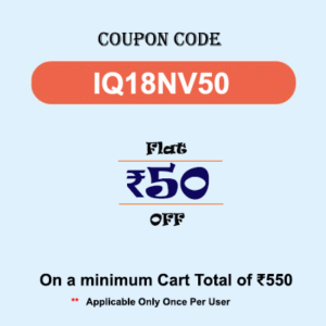 IndianQ Coupon Code - IQ18NV50