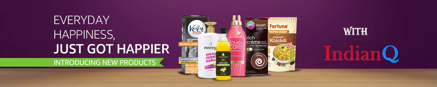 IndianQ New Products Coupons