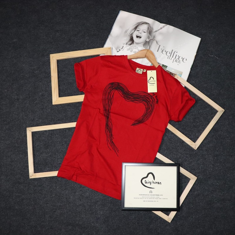 being human red t shirt