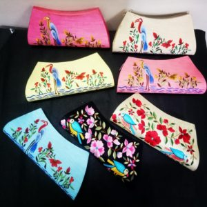 Designer Embroidered Clutches For Women