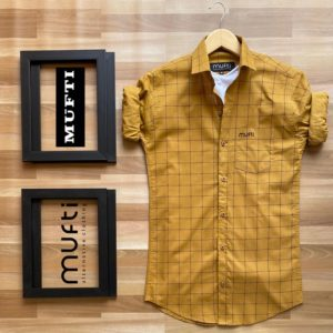 Trendy Mufti Branded Shirts For Men