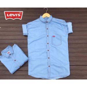 Levis Branded Denim Shirt