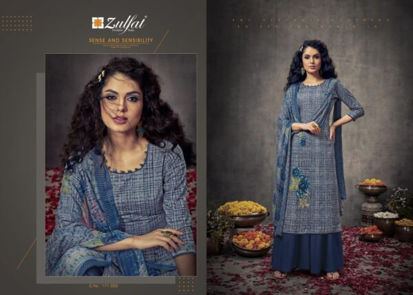 Zulfat Designer Suits by Good Quality World Blue
