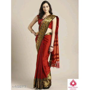 Charvi Fashionable Sarees By Siddhi Fashion Collection Red