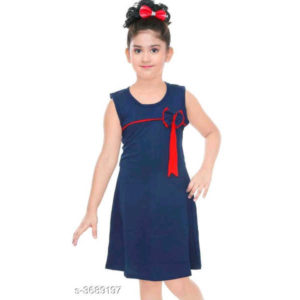 Adorable Kids Dresses By Hafsa Collection (Blue)