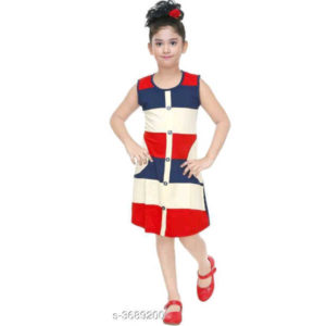 Adorable Kids Dresses By Hafsa Collection (Multi Color)