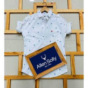 Allen Solly Shirt For Men By Fashion Fiesta (White)