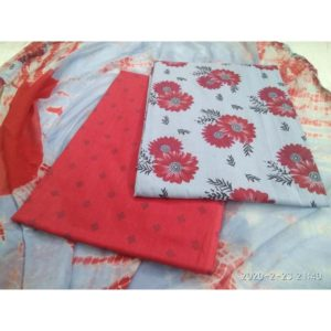 Cotton Dress Material With Cotton Doby Fabric Dupatta