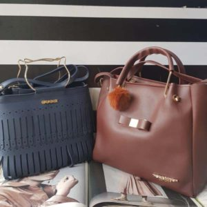Gucci & Ted Baker Handbag Combo For Women By Best Variety (Blue-Brown)