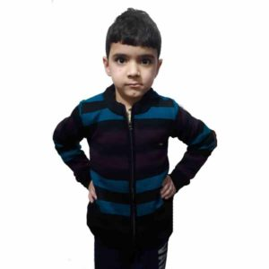 Kids Stripped Sweater By RR Collection (Navy Blue)