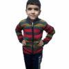 Kids Stripped Sweater By RR Collection (Red-Grey)
