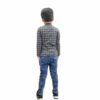 Kids T-shirt Attached With Shrug By RR Collection (Black & Grey)2