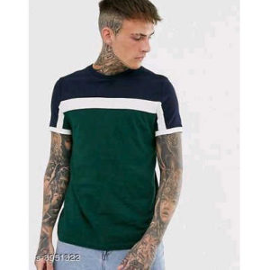 Stylish Men T-Shirts By Hafsa collection (Green)