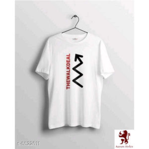 Trendy Ravishing Men T-Shirts By Ayan Style (White 2)