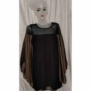 Women Western Dress By RR Collection (Black)
