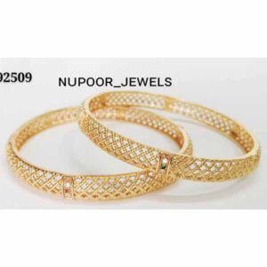 Artificial Golden Bangles For Daily Use By Nupoor Jewels