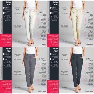 Beautiful Cotton Pants For Women By Good Quality World