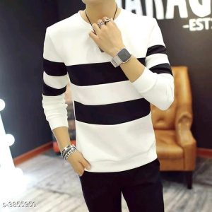 Comfy men Sweatshirts By Hafsa Collection (White)