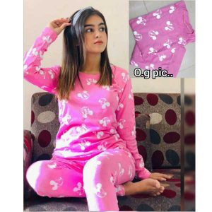 Mickey Track Suit Combo By Khusi Fashion (Pink)