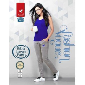 Plain Track Pants With Pocket By Khusi Fashion