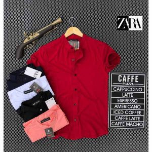 Zara T-Shirt For Men By Sai Collection (Red)