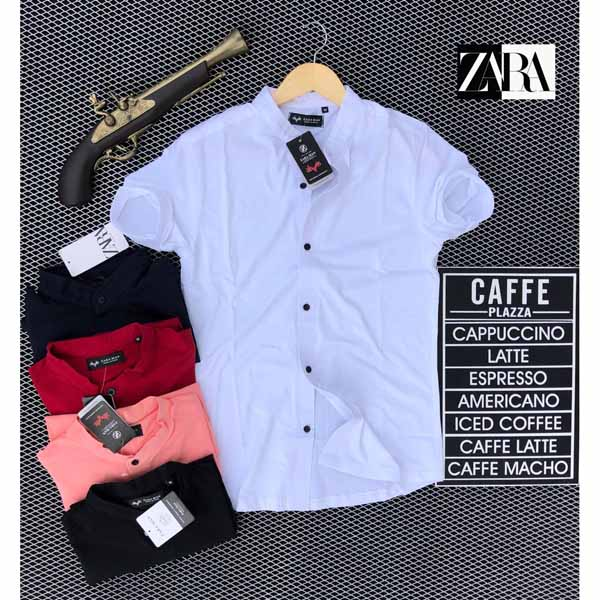 Zara T-Shirt For Men By Sai Collection (White Off)