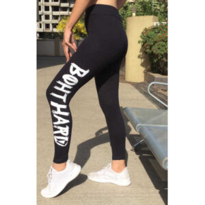 Adidas & Nil Cut Design Cotton Rib Stretchable Track Pants For Women By Indy Beauty (Black4)