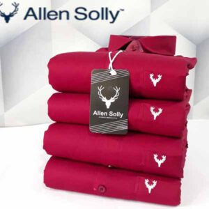 Allen Solly Full Sleeves Cotton Plain Shirts For Men By TNP India