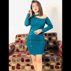 Fashion Dress For Women By Shopping With Style (Blue)