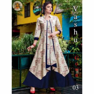 Gown For Women By Shopping With Style (Cream)