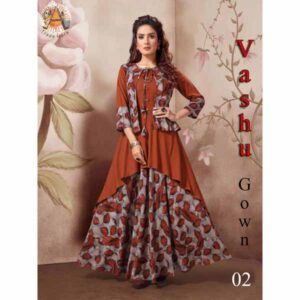 Gown For Women By Shopping With Style (Multicolor)