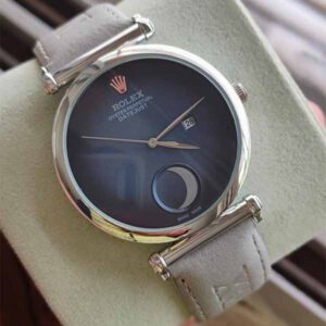 Rolex Moon Model Wrist Watch With Date Function For Men By Ganesh Fashion