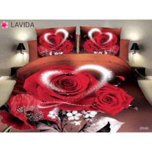 One Double Bedsheet With Two Pillow Covers By Shopping With Style (Multicolor) (16)