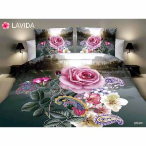 One Double Bedsheet With Two Pillow Covers By Shopping With Style (Multicolor) (17)
