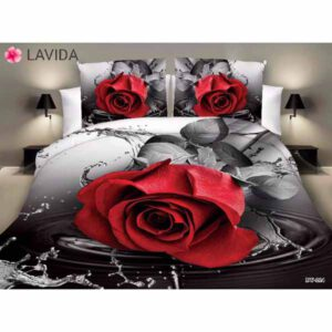 One Double Bedsheet With Two Pillow Covers By Shopping With Style (Multicolor) (18)