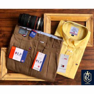 Tommy Hilfiger,Louis Philippe Shirt & Trouser Combo Set For Men By Sai Collection