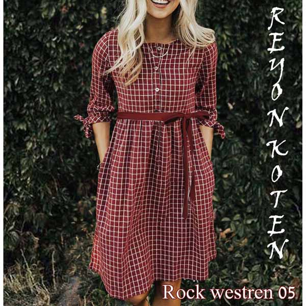 Western Wear Dress For Women By Shopping With Style (Brown)
