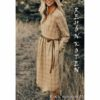 Western Wear Dress For Women By Shopping With Style (Cream)