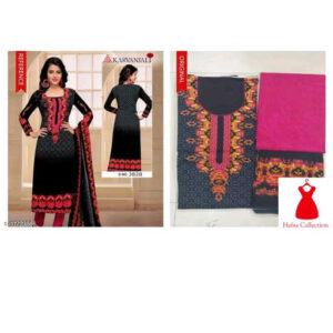 Aradhya Casual Cotton Suits & Dress Materials Vol 1 By Hafsa Collection (Black)