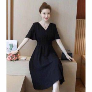 Beautiful Mini Dress For Women By Shopping With Style (Black) (2)