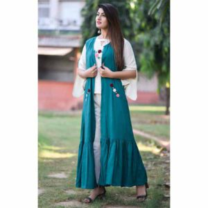 Rayon Kurti & Jacket For Women By Rajasthan Collection