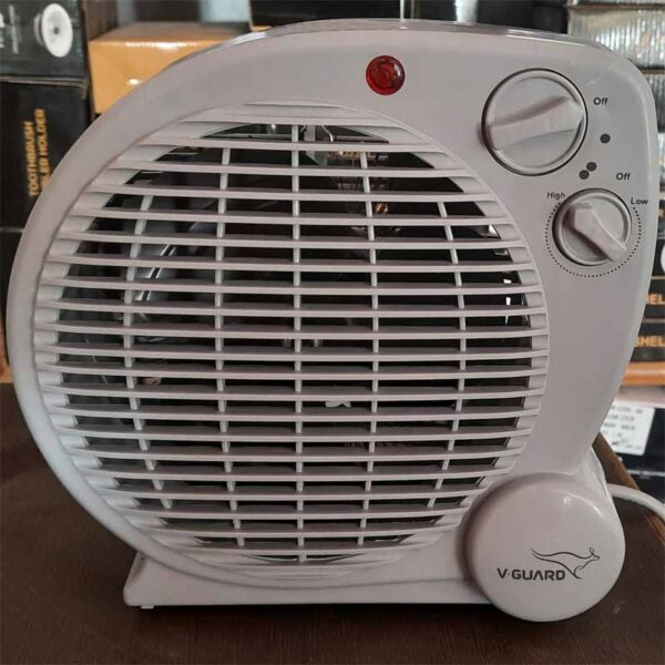 V-Guard Electric Room Heater RH2000 FH 1250 By Vishna Electronic Asnawar