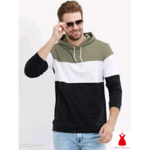 Attractive Cotton Men Hoodie Full Sleeve Printed Sweatshirts By Hafsa Collection