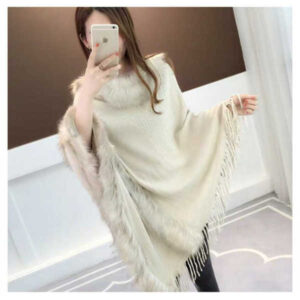 Beautiful New Design Woolen Women Poncho By Blossom Boutique