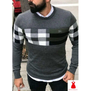 Comfy Retro Cotton Men Round Neck Full Sleeve Sweatshirts By Hafsa Collection