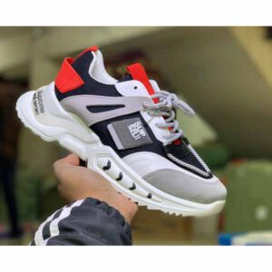 Deluxe Sports Shoes By Adarsh Men Wear(white1)