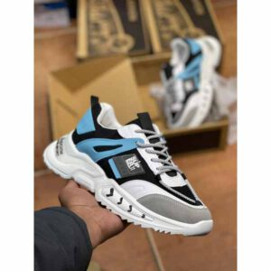 Deluxe Sports Shoes By Adarsh Men Wear(white7)