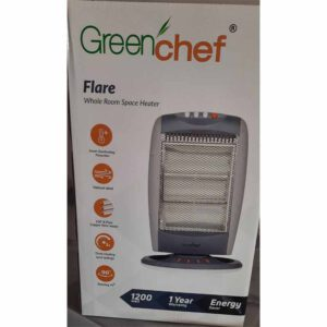 Greenchef Room Heater By Vishna Electronic Asnawar (Grey)